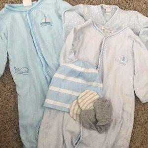 Blue Newborn-3 Months Bundle